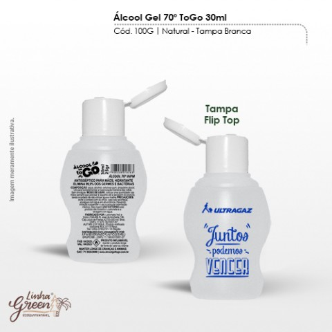 Álcool gel 30ml