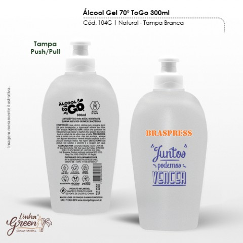 Álcool gel 300ml